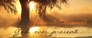 """""""Jehovah Shammah"""" Yehezkiel 48:35"""