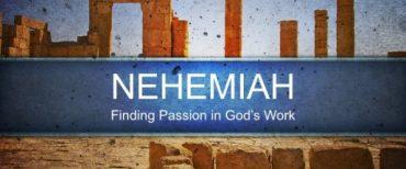 """""""Mengikuti Keberhasilan Nehemia 'Fokus Menggantungkan Tujuannya di Dalam Tuhan'"""" Nehemia 2:20"""